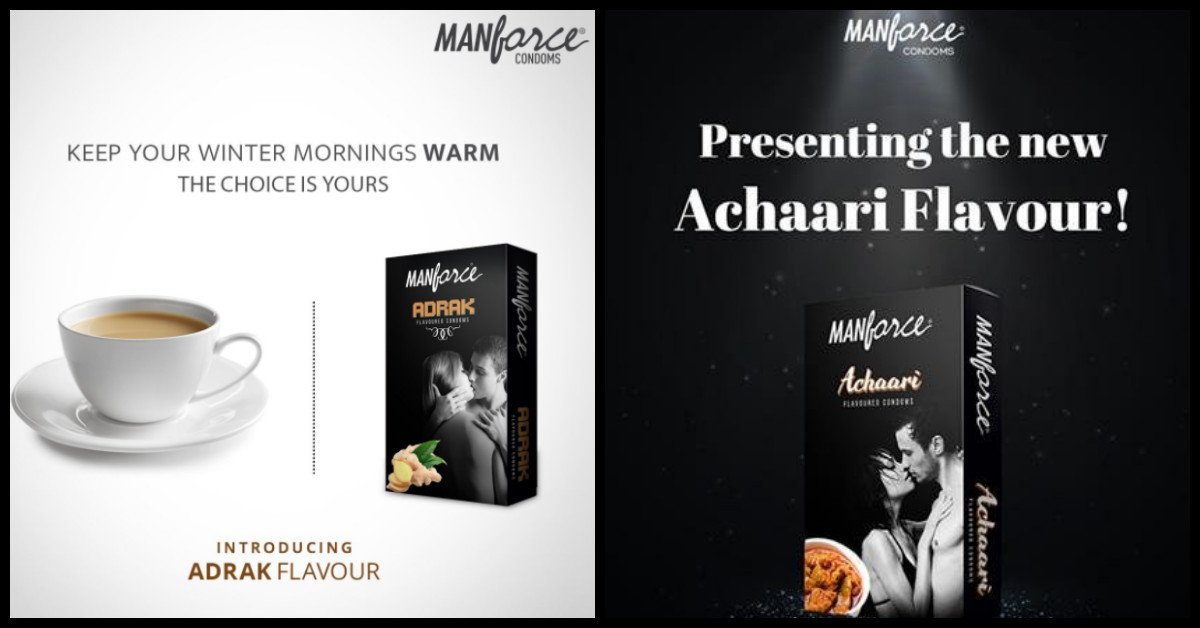 Would You Try Manforce's New Adrak Flavoured Condoms?