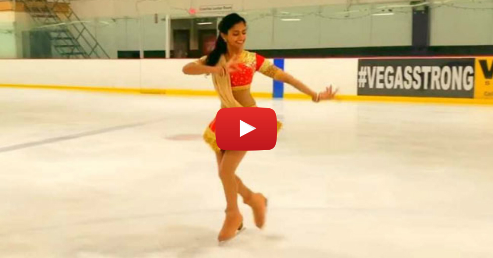 This 'Ghoomar Dance On Ice' Is The Best Thing On The Internet Today