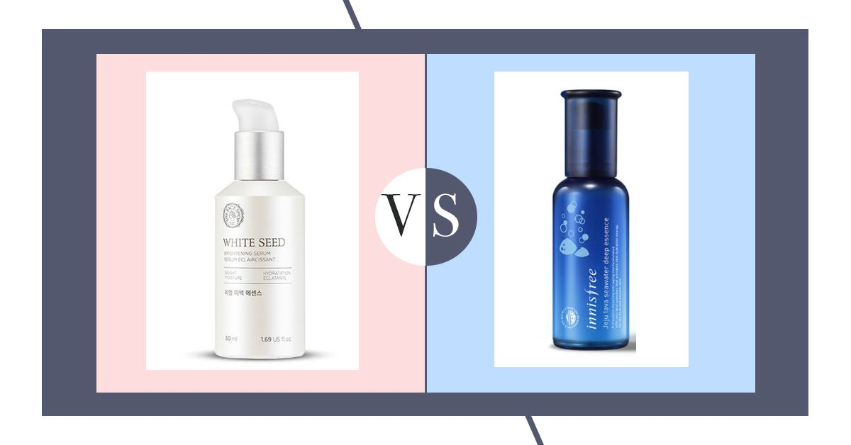 Select The Best Facial Serum To Get Brightening Glow: Innisfree vs The Face Shop