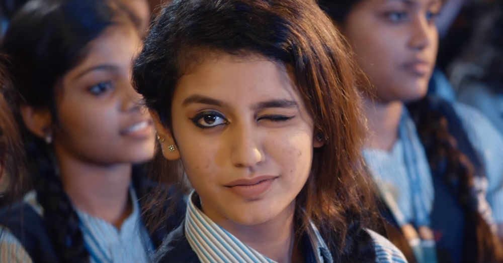 The Wink That's Driving The Nation Crazy ft. Priya Varrier!