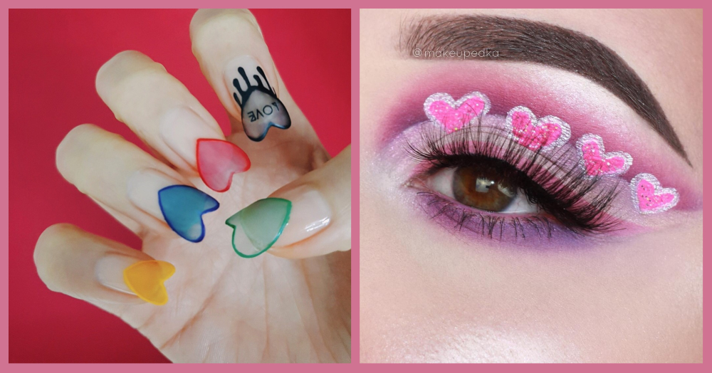 Get Artistic With Your Valentine's Day Make-Up!