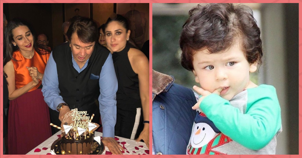 Taimur & Gang Had The Sweetest Surprise For Nanu Randhir Kapoor On His Birthday!
