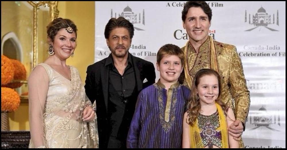 SRK & Justin Trudeau Pose Together: Who Do You Think Looks Better?