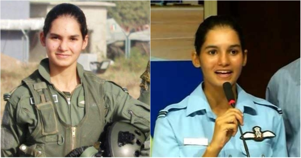 Meet The First Woman In India To Fly A Fighter Jet Solo