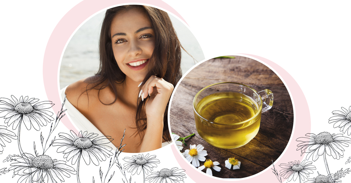 Chamomile Tea Might Be Your Answer For Clear, Radiant Skin!