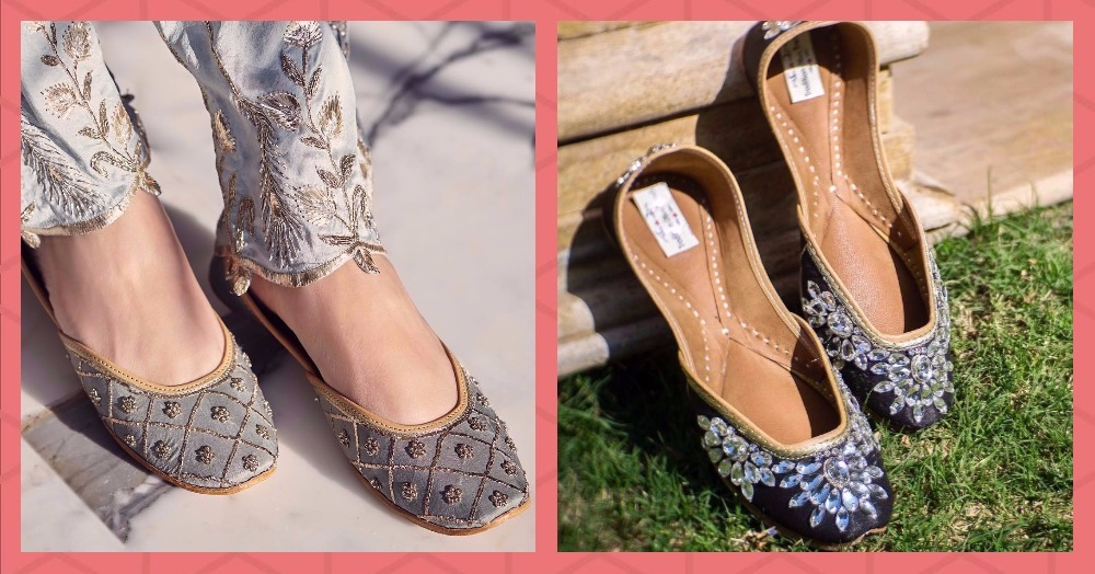 7 Places To Buy Affordable & Gorgeous Celeb-Style Juttis For Your Wedding Day