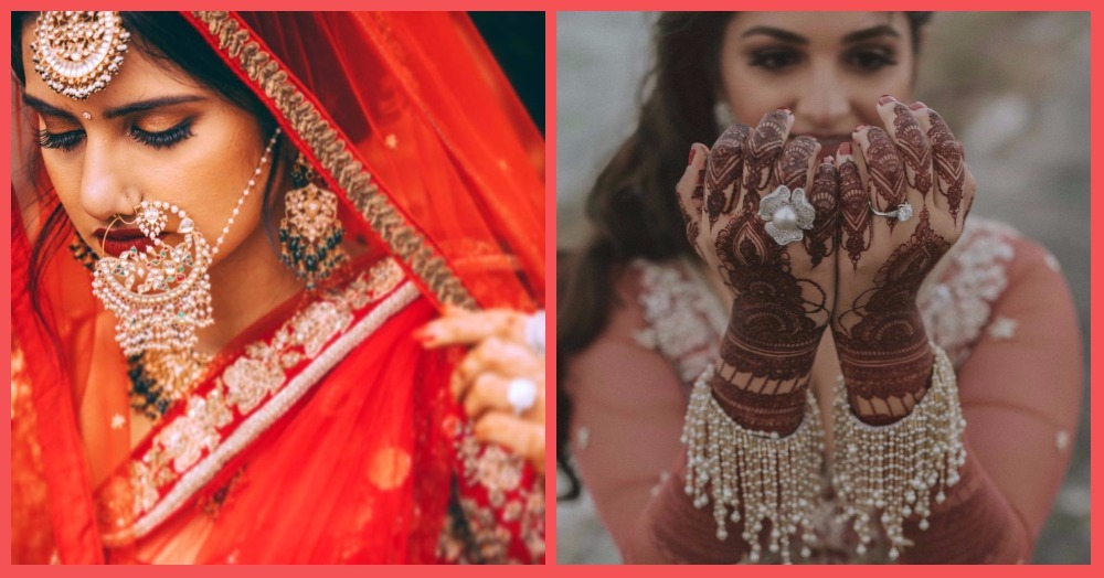Diamond Tiaras To Pearl Fringe Bangles: The Most Unique Jewellery We Spotted On Brides!