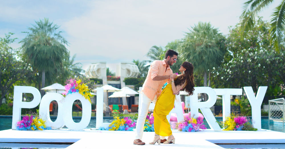 This Thailand Wedding Will Give You All The Reasons To Get Married By The Beach!