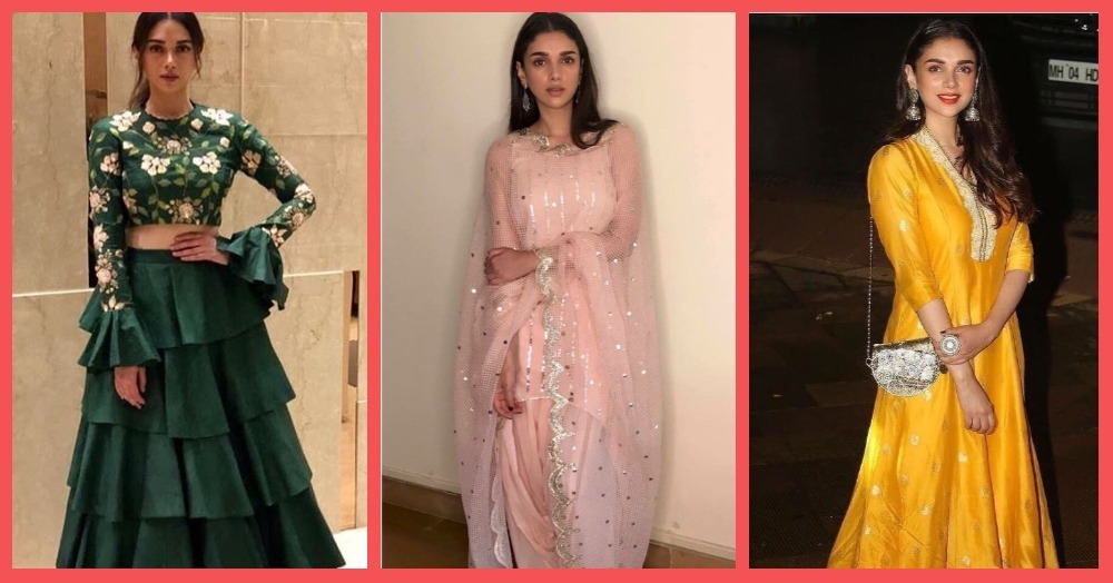 Times Aditi Rao Hydari Made Us Wish We Could Look Like Her At Our Bestie's Wedding!