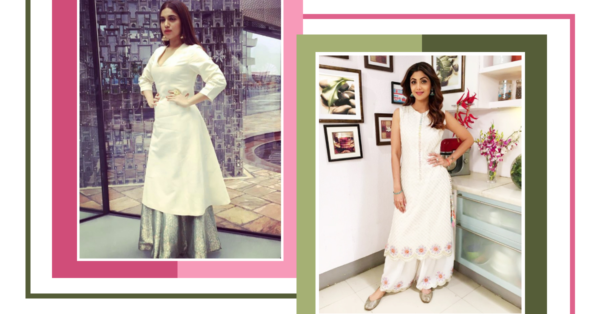 These Comfortable Kurta & Palazzo Looks Prove That The Stars Are Just Like Us!