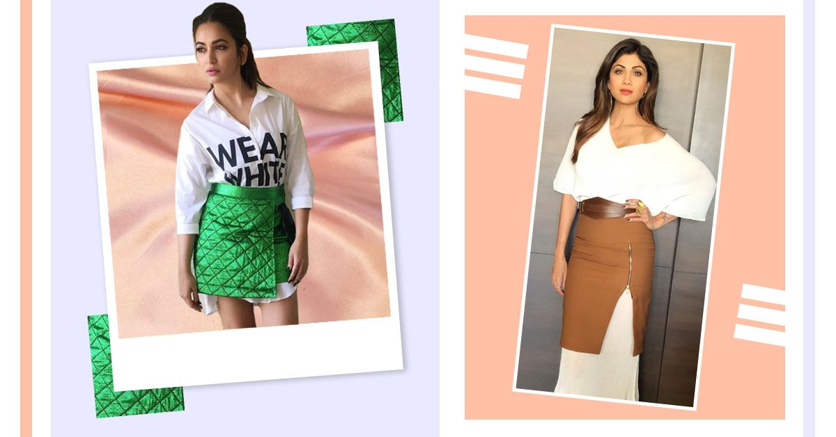 Layering A Dress With A Skirt Is The New Bollywood Trend That We're Crushing On!