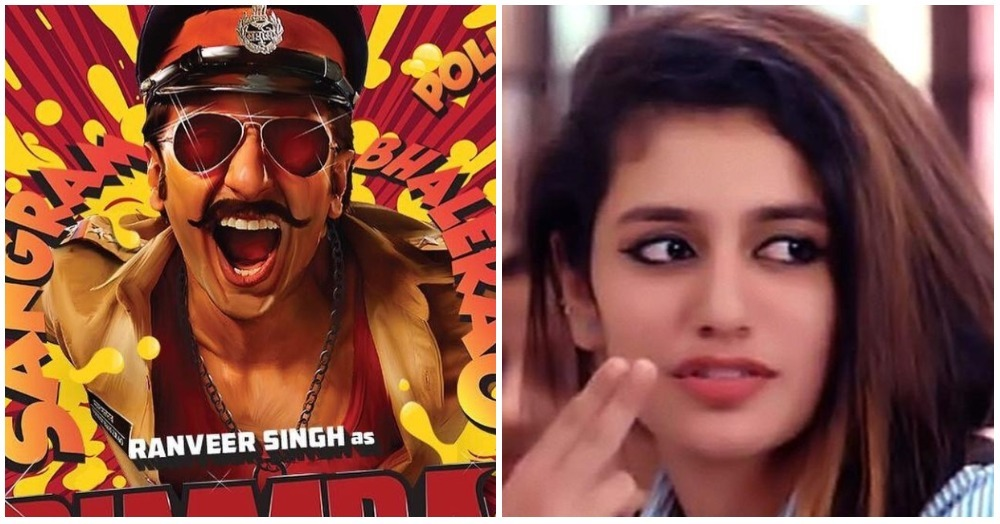 Is Priya Prakash Varrier All Set To Star Opposite Ranveer Singh?