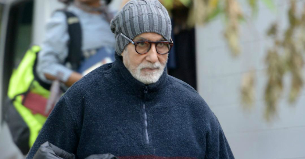Amitabh Bachchan Has Just Been Injured While Shooting For 'Thugs of Hindostan'