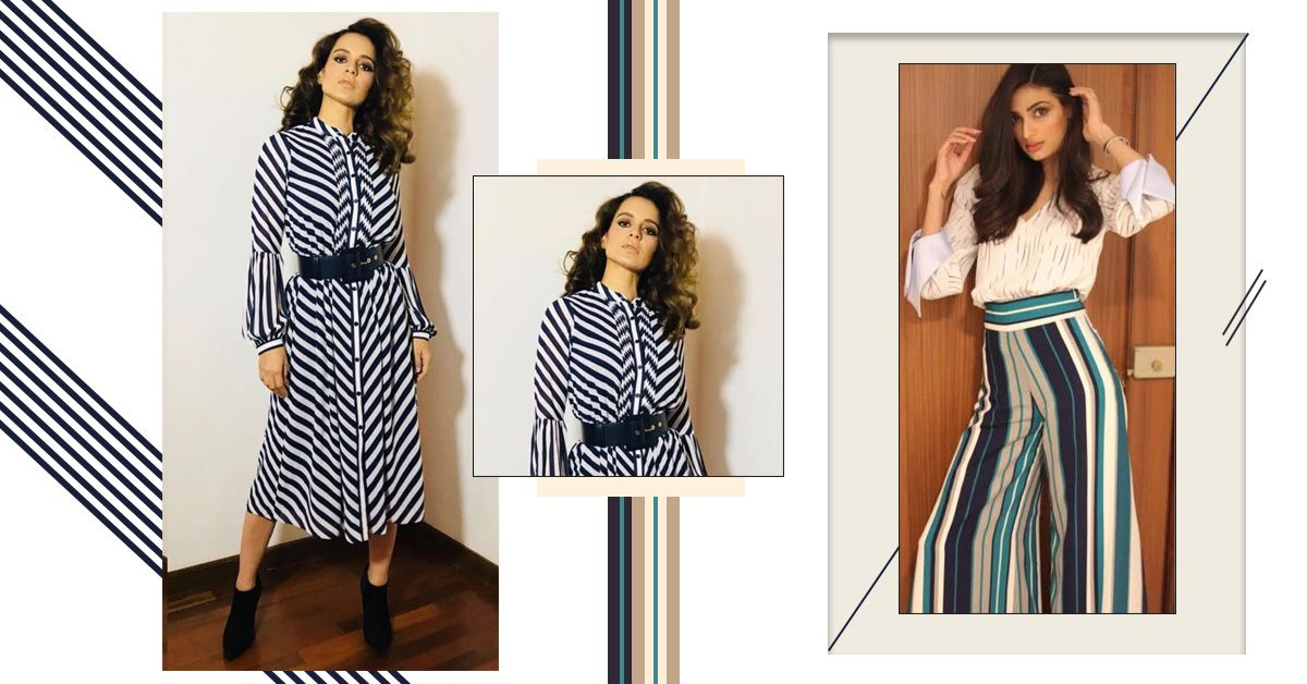 We Thought Stripes Were Over Until We Saw These Bollywood Looks!