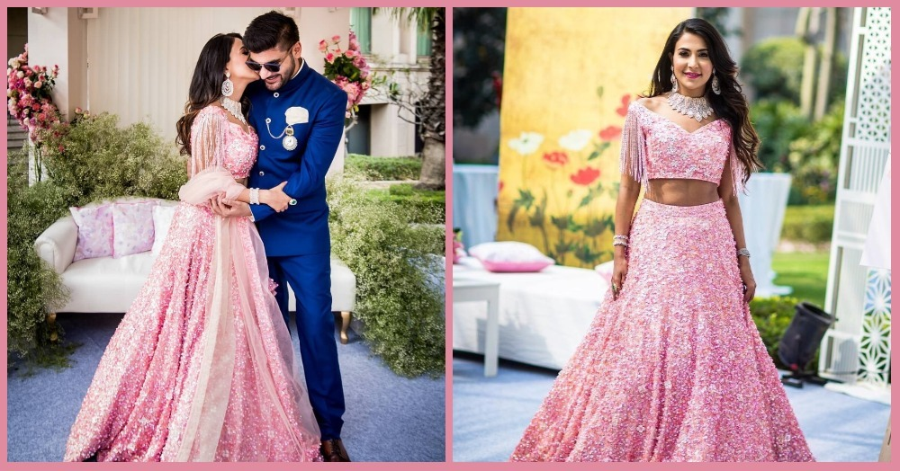 After Anushka Sharma, This Gorgeous Bride Taught Us How To Be Pretty-In-Pink