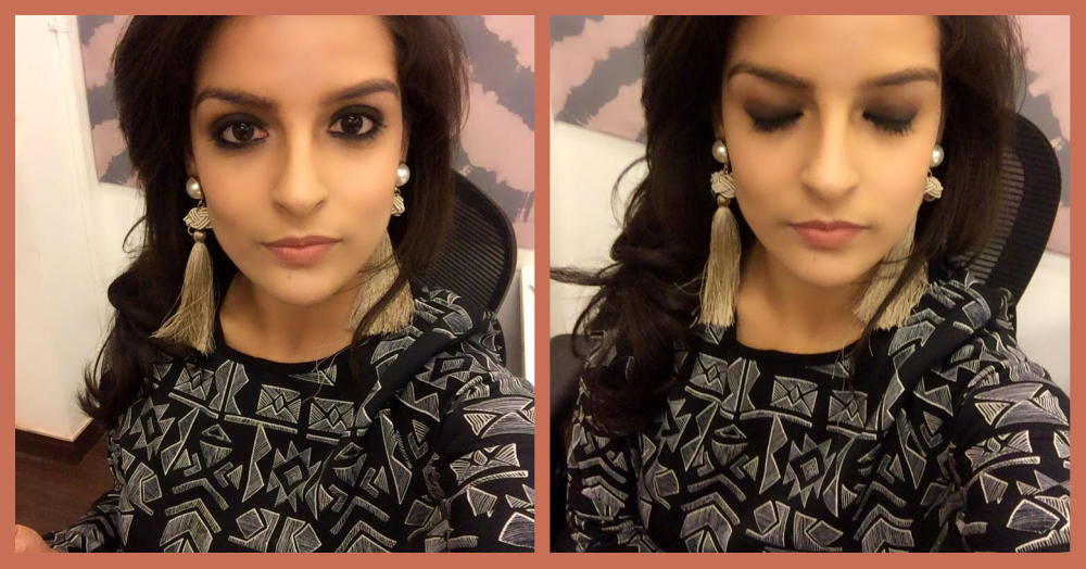 Here's What Happened When I Tried To Do A Smokey Eye Without ANY Make-up Brushes!