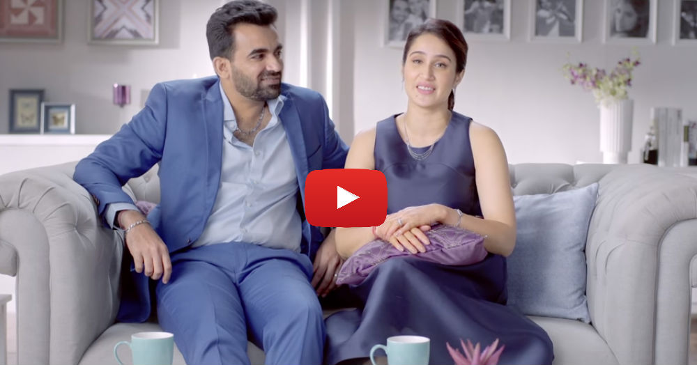 Watch Sagarika & Zaheer Share Their Beautiful Love Story In This Video!