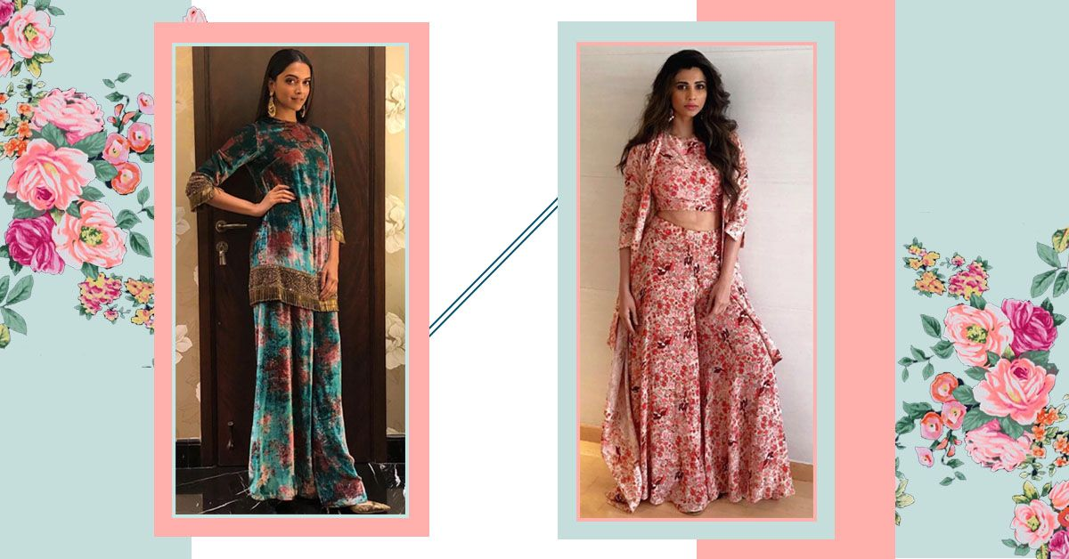Here's How You Can Do Floral-On-Floral Without Looking Like A 'Guldasta'!