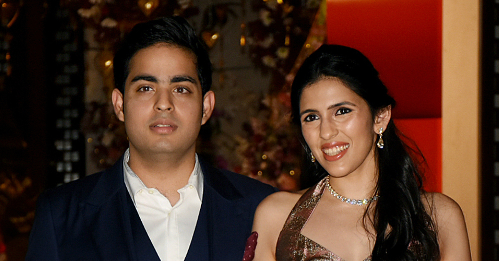 Dress Like A Billionaire: All The Details You Wanted For Shloka Mehta's Engagement Outfits!