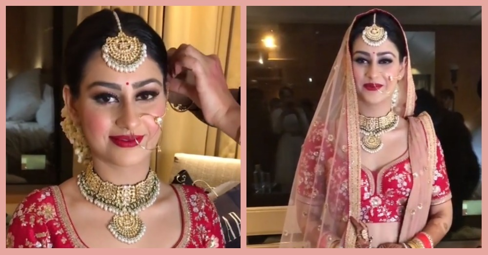 Bride Went Foundation-Free On Her Wedding Day & Looked So Gorgeous!