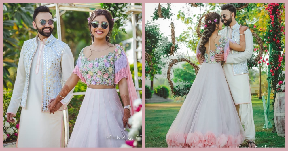 This Bride's Unicorn Inspired Lehenga Is For Every Girl Who Believes In Fairy Tales!