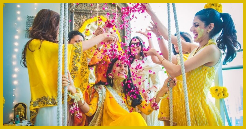 Paint The Day 'Yellow' - These Haldi Pictures Will Get You All Excited For The D-Day!