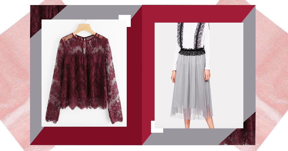 Face The Lace: How To Style The Trend Like It's Still In Fashion!