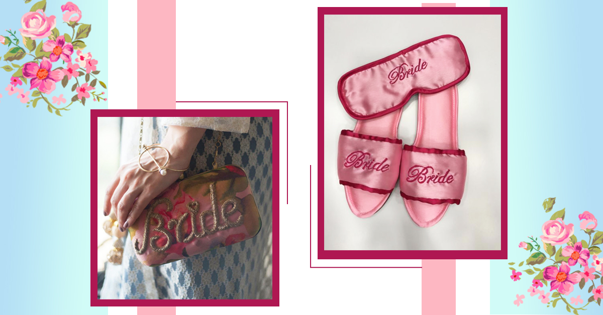 Let Everyone Know That You're The Bride-To-Be With These Awesome Personalized Products!
