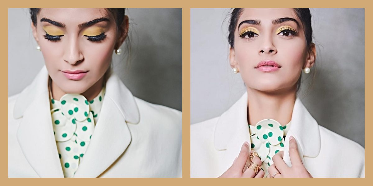 And It Was All Yellow! Sonam Kapoor Steps Away From The Usual With Popping Eye Make-Up