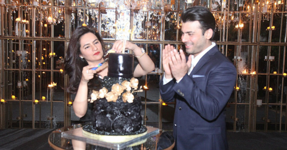 Fawad Khan Threw A Surprise Birthday Party For Wife Sadaf & We're Crushing On Him All Over Again!