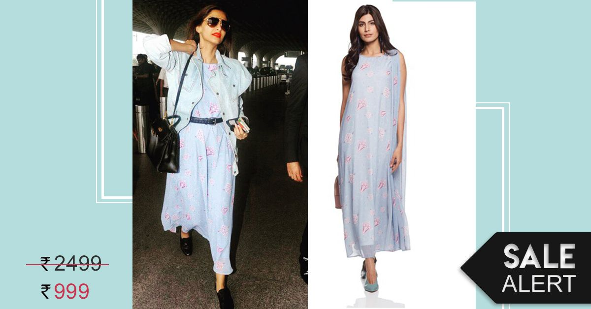 Look Fly (As A Kite) As You Pick Up Sonam Kapoor's Dress On Sale Just For Rs 999!