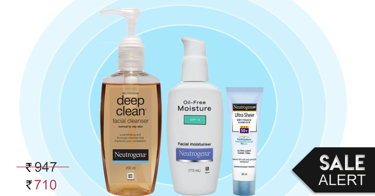Give It A Rest: The Neutrogena Oily Skin Combo Is Here To Save The Day! #SaleAlert