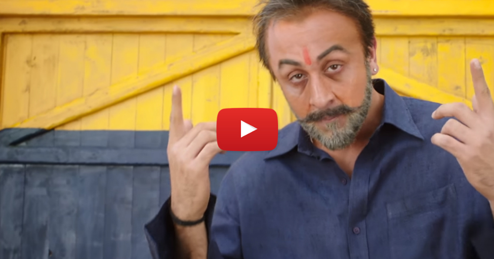 Watch Ranbir Kapoor Become Sanjay Dutt In This Epic Teaser Of 'Sanju'