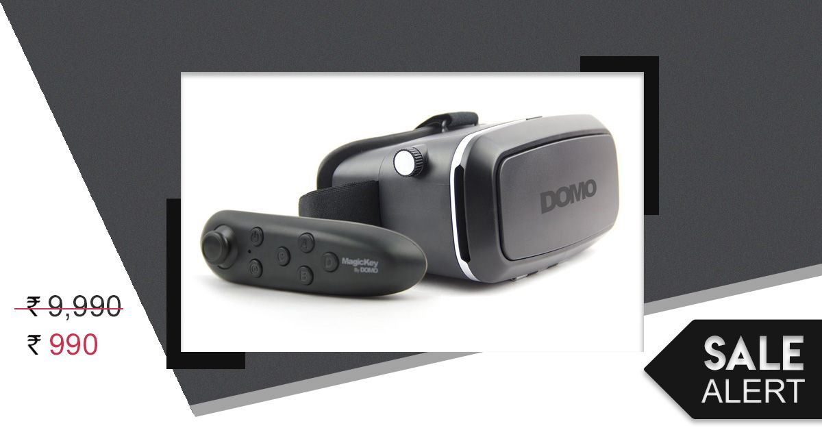 Sale Alert: This Virtual Reality Headset For Your Phone Is At 90% Off!