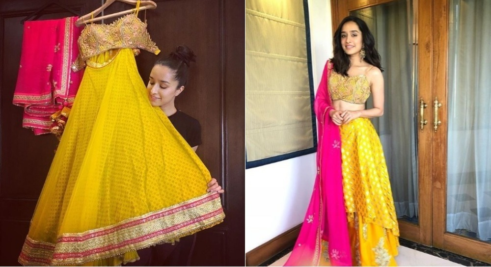 Shraddha Kapoor Mixes THREE Different Designer Looks Into ONE Fabulous Outfit!