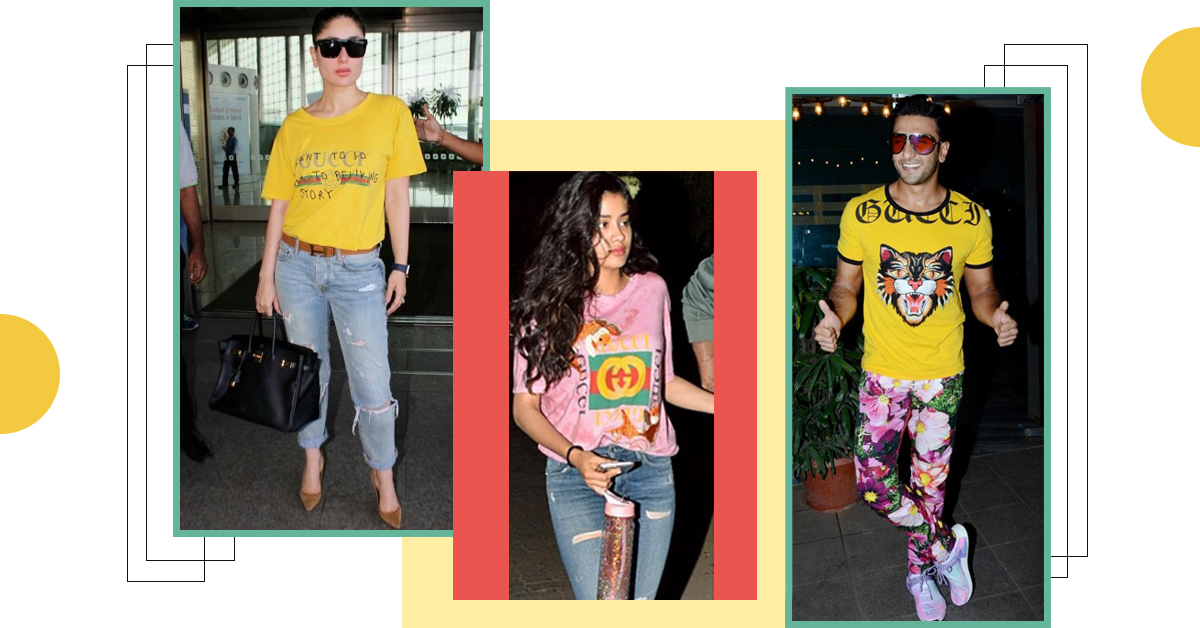 Welcome The Gucci Gang: Bollywood Has A New Logo T-Shirt Obsession!