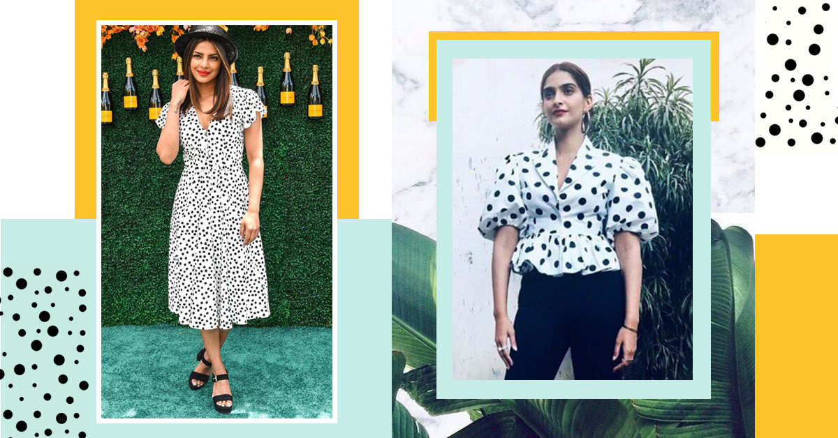 This Is How The Polka Dot Was Reversed And Given A Fresh Feel For The Summer!