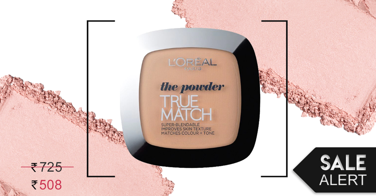 Brush, Pat And Dab: This Lifesaving Loose Powder From L'Oreal Is At 30% Off Today!