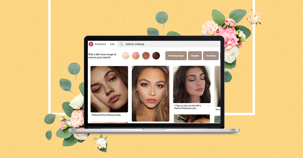 Pinterest's New All-Inclusive Beauty Update Is A Real Game Changer!