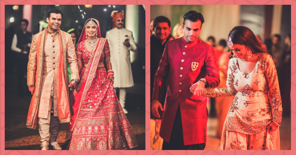 A Sufi Night To A Sabyasachi Lehenga - This Bride's Dreamy Wedding & Outfits Cannot Be Missed!