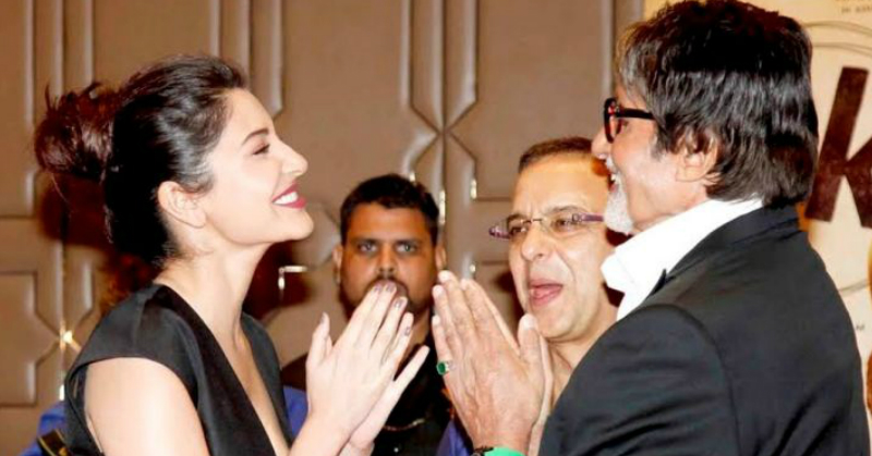 Big B Wished Anushka Via SMS But He Didn't Receive A Reply... So He Tweeted About It!