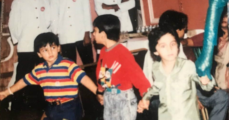 #ThrowbackThursday: Young Sonakshi, Shraddha, Arjun & Ranbir At A 90s Birthday Party!