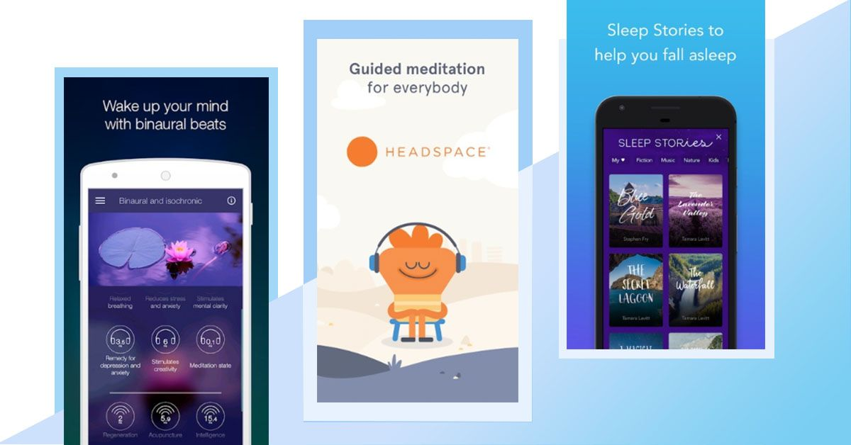 Relaxing Apps That Help In Meditation And Getting Better Sleep