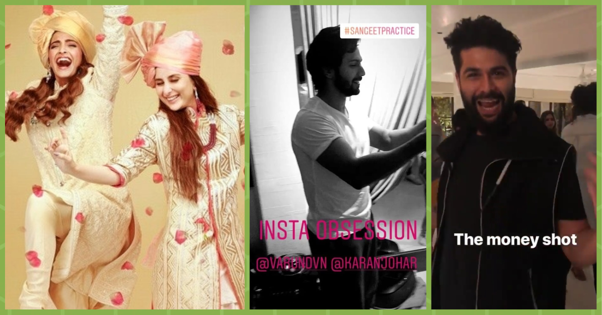 Sangeet Dance Practice Has Begun At Sonam's House & These Videos Are SO FUN!