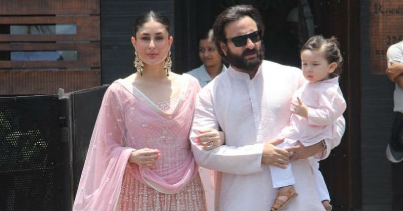 OMG! Taimur Just *Stole* The Show At Sonam Kapoor's Wedding