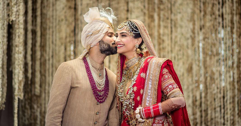 Sonam & Anand's First Insta Post After The Wedding Is The Cutest Thing You'll See Today!