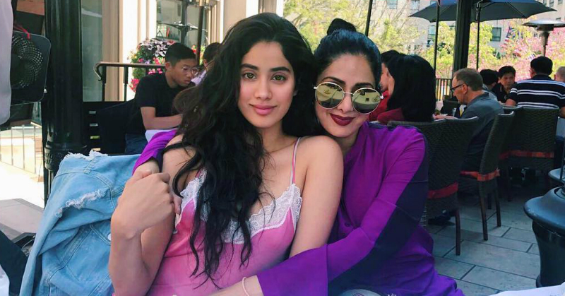 On Mother's Day, Janhvi Kapoor Shares An Unseen Childhood Photo With Mum Sridevi