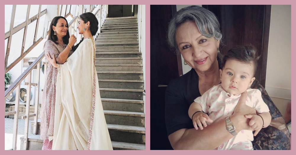 Bollywood Celebrities Wish Their Moms With Adorable Posts; Pics Inside