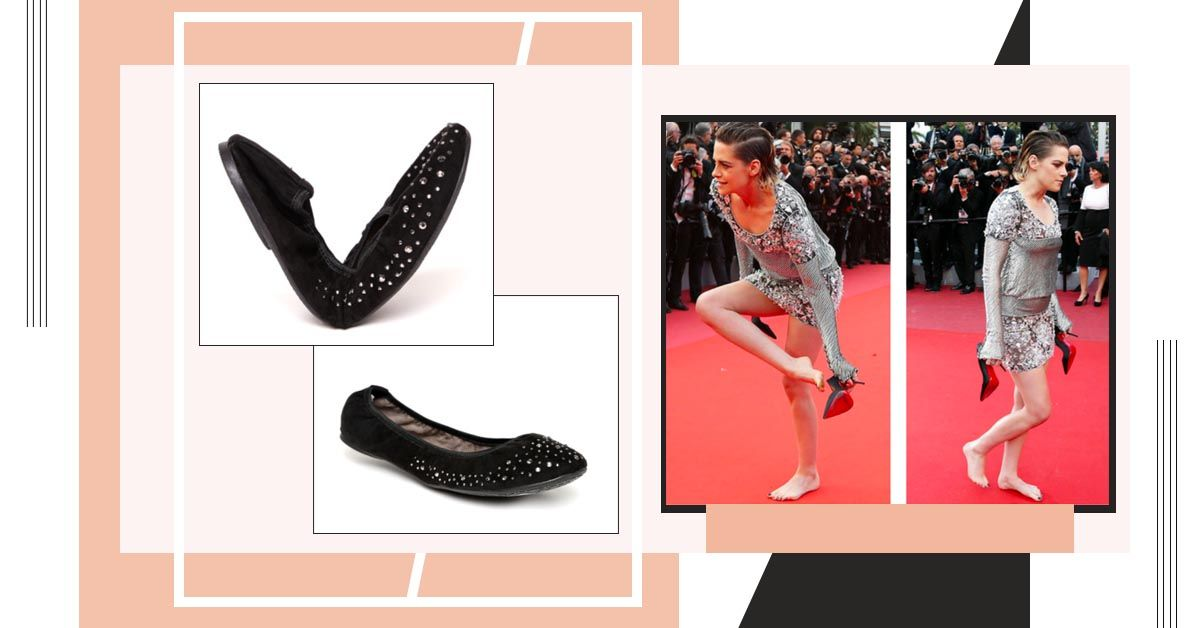 Kick Off Your Heels, These Foldable Ballet Flats Will Fit Perfectly In Your Party Clutch!