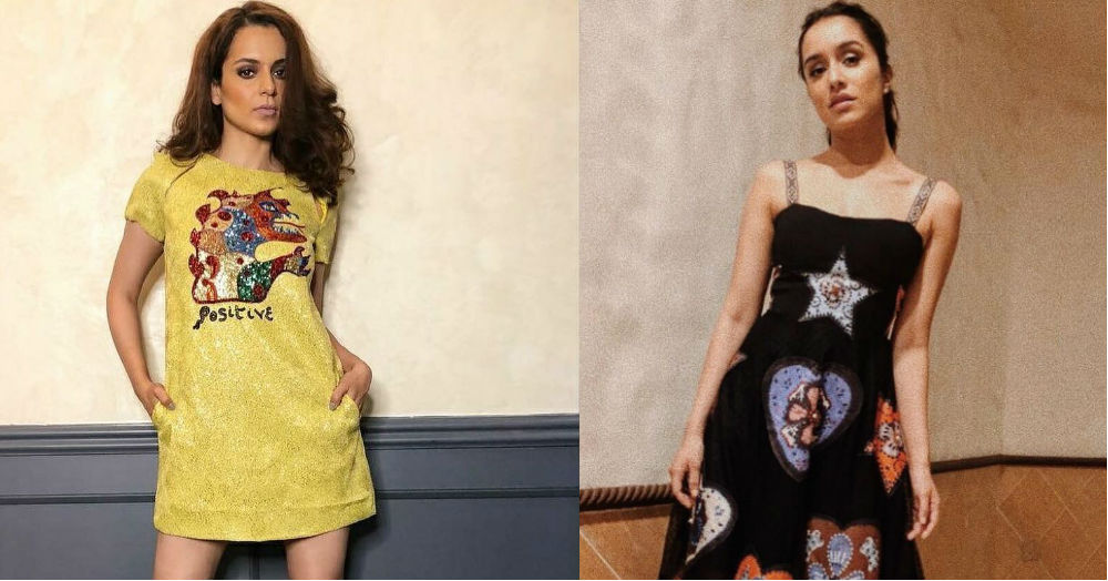 Kangana & Shraddha Both Wore Dior Dresses But One Of Them Was Fake! Can You Guess Which One?